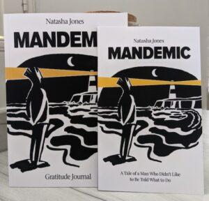 Mandemic Book & Gratitude Journal Combo